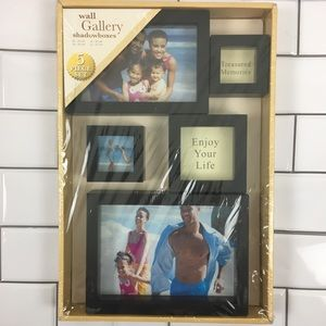 Wall Gallery Black Shadow Boxes